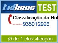 tellows Bewertung 935012926